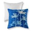 Panama Jack Home Breezy Palm Cotton Throw Pillow (Set of 2)