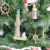 Handcrafted Nautical Decor Boone Island Lighthouse Christmas Tree Ornament