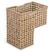 Trademark Innovations Braided Rope Storage Stair Basket with Handles