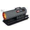 Dyna-Glo 50,000 BTU Portable Kerosene Forced Air Utility Heater with Run Time Fuel Gauge