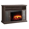 Pleasant Hearth Riley Media Cabinet and Electric Fireplace