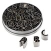 Cake Boss 26 Piece Stainless Steel Alphabet Fondant and Cookie Cutter Set