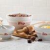 Cake Boss Bistro 3 Piece Melamine Mixing Bowl Set