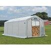 ShelterLogic 10 Ft. W x 20 Ft. D Polyethylene Firewood Storage Shed