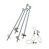 ShelterLogic 4 Pieces 30' Auger Anchor