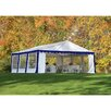 ShelterLogic 20 Ft W x 20 Ft D Party Shelter and Enclosure Kit