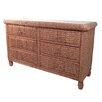 ElanaMar Designs Miramar 6 Drawer Dresser