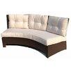 ElanaMar Designs Sonoma Curved 3 Seat Sofa with Cushion
