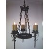 Laura Lee Designs Gothic 3 Light Chandelier