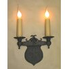 Laura Lee Designs Shield Double Wall Sconce