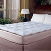 Blue Ridge Home Fashions 233 Thread Count Cotton Cover Featherbed Topper