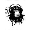 """Cortesi Home """"Monkey Business"""" by Nicklas Gustafsson Graphic Art on Canvas"""
