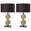 "Milton Green Star Rodney 27.5"" H Table Lamp with Oval Shade (Set of 2)"