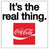 Thirstystone Coke It's The Real Thing Occasions Coasters Set (Set of 4)