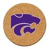 Thirstystone Kansas State University Cork Collegiate Coaster Set (Set of 6)