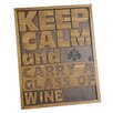 River Cottage Gardens Keep Calm Wall Décor