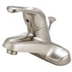 Kingston Brass Wyndham Centerse Bathroom Faucet with Pop-Up Drain