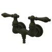 Kingston Brass Vintage Wall Mount Clawfoot Tub Faucet