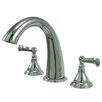 Kingston Brass Royale Double Handle Roman Tub Faucet