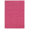 Pantone Universe Focus Pink Shag Area Rug