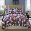 Nostalgia Home Fashions Flying Geese Quilt