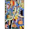 Ottomanson Children's City Streets Area Rug