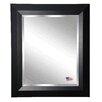 Rayne Mirrors Jovie Jane Solid Black Angle Wall Mirror