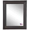 Rayne Mirrors Ava European Walnut Wall Mirror