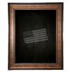 Rayne Mirrors Bronze and Black Wall Mounted Chalkboard