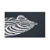 e by design La Cebra Animal Print Throw Blanket