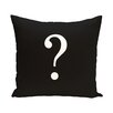 e by design Question the World Throw Pillow