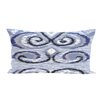 e by design Ikat's Meow Geometric Print Outdoor Pillow
