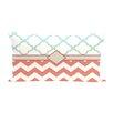 e by design Express Line Geometric Print Outdoor Throw Pillow