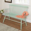 TMS Shelby Rubber Wood Bedroom Bench