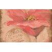 Thumbprintz Golden Floral Pink Area Rug
