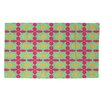Thumbprintz Anima 2 Star Pink/Green Area Rug