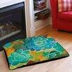 Thumbprintz Aqua Bloom Blooms Pet Bed