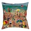 Thumbprintz Life's a Beach Indoor/Outdoor Throw Pillow
