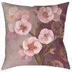 Thumbprintz Gypsy Blossom 2 Indoor/Outdoor Throw Pillow
