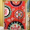 Thumbprintz Bird Berries Susani Shower Curtain