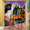 Thumbprintz Calico Dreams Shower Curtain