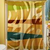 Thumbprintz Tropical Leaf I Shower Curtain