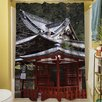 Thumbprintz Nikko Monastery Building Shower Curtain