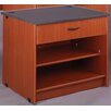 Stevens ID Systems Library Shelf with Drawer and Locks
