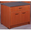Stevens ID Systems Library Shelf with Doors and Drawer