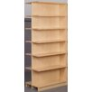 "Stevens ID Systems Library Adder Double Face Shelf 84"" Standard Bookcase"