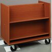 Stevens ID Systems Library Sloped Shelf Book Cart