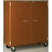"""Stevens ID Systems Music 55"""" Band/Orchestra Folio Storage with Casters and Doors"""
