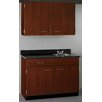 Stevens ID Systems 2 Drawer over Door / Right Sink