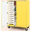 Stevens ID Systems Mobiles 12 Trays and 4 Shelves with Lock